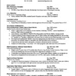 Student Teaching Resume Template