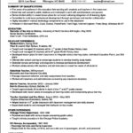 Summary Resume Template