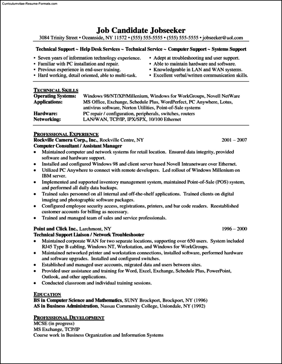support resume - Military.bralicious.co
