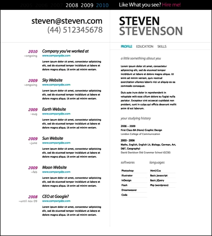 Top rated resume templates free samples examples for Best rated resume templates
