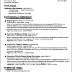 Traditional Resume Templates