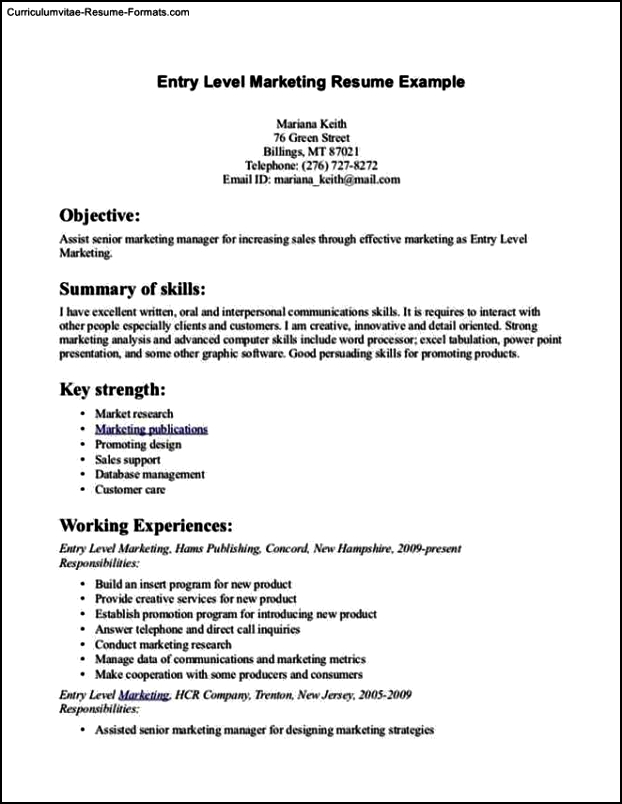 Uconn Resume Template