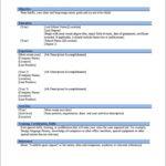 Work Resume Template Microsoft Word