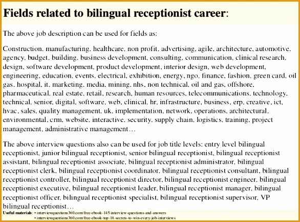 top 10 bilingual receptionist interview questions and answers 18 638 cb=
