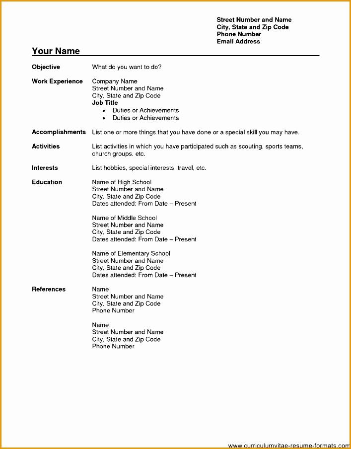 Blank Resume Template Pdf Wjkff Beautiful Pdf Resume format Simple Resume format Pdf Simple Resume