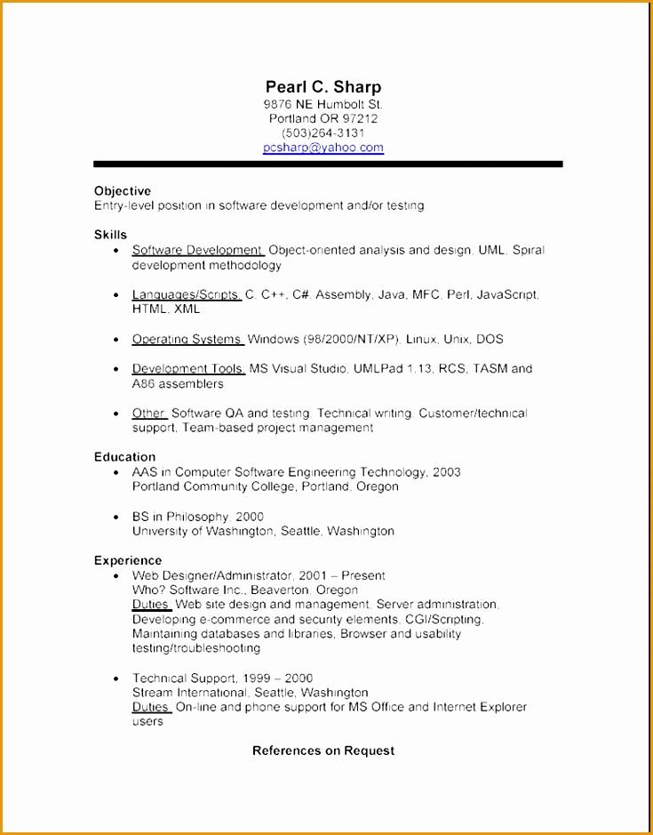 7 bpo resume template