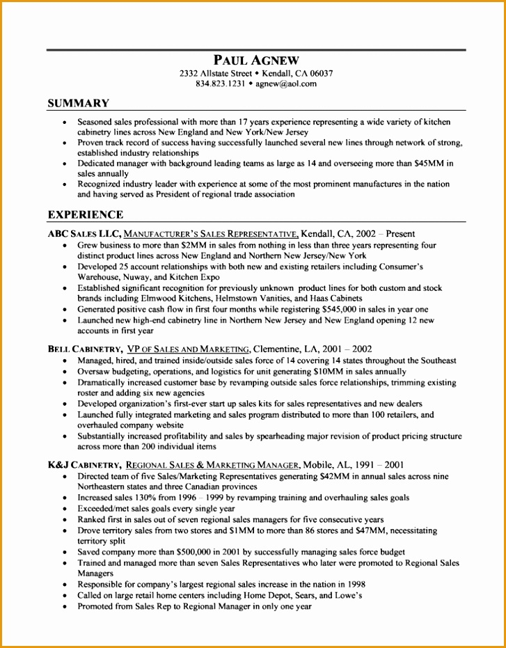 5 clothing store sales associate resume