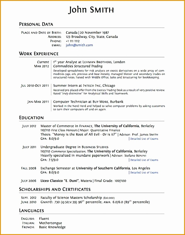 College Resume Template site college819644