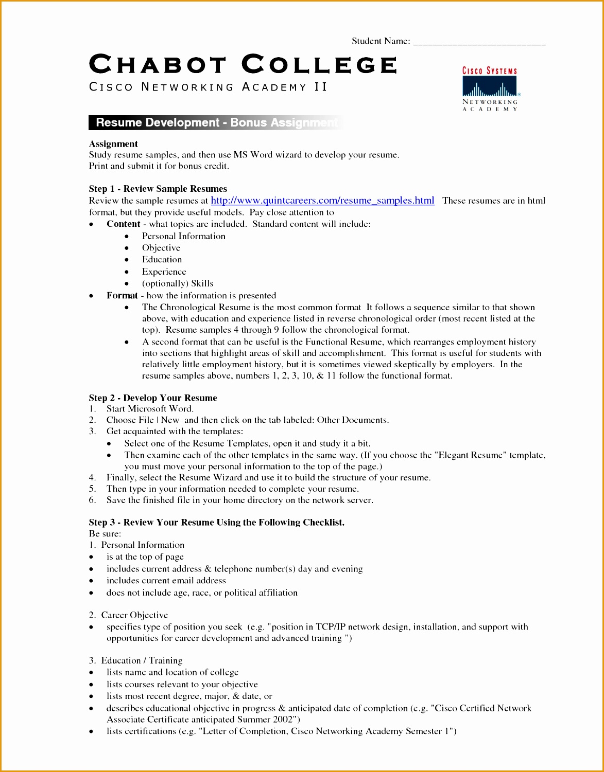 College Resume Template15011173