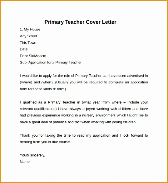 teacher cover letter example Best Teacher Cover Letters588538