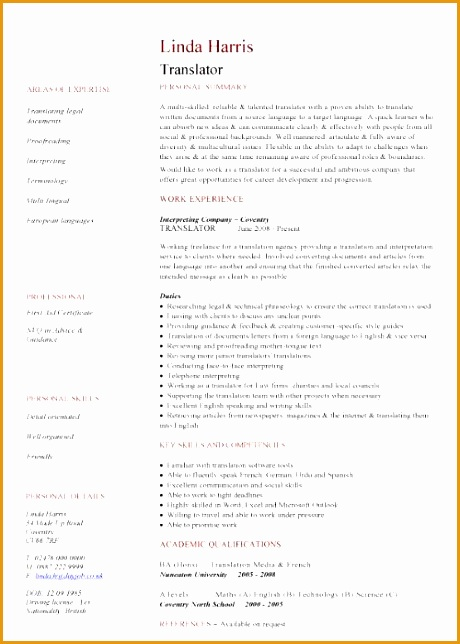 professional south african cv template644460