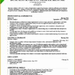 6 Example Business Analyst Resumes