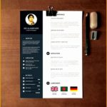 8 Free Creative Resume Template Psd