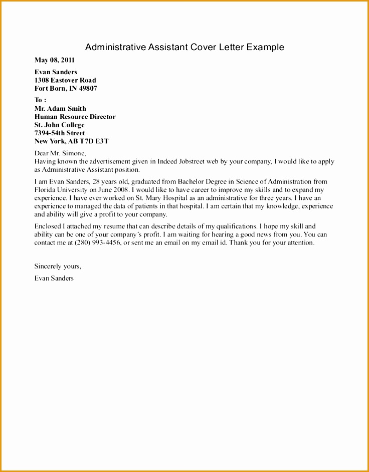 example of cover letter for resume 5 free sample cover letter for resume free samples 1672