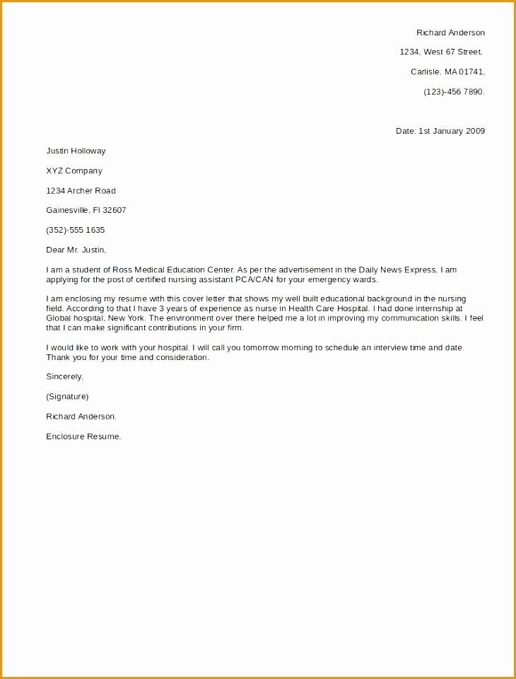 a sample of a cover letter for a resume jianbochen Template For Cover Letter For960730