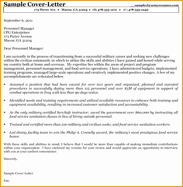 Best Solutions of Example Federal Government Cover Letter For Download