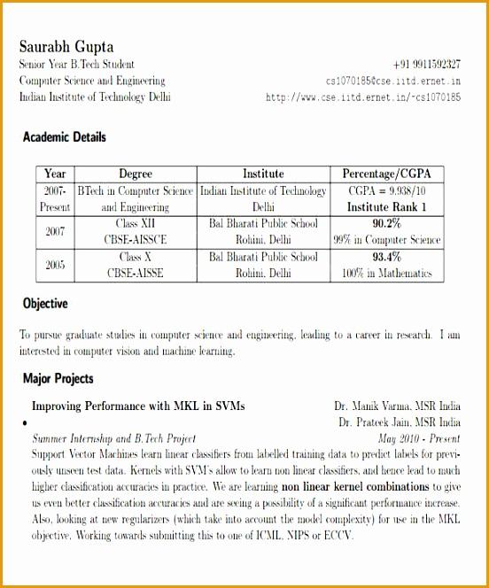 Engineering Fresher Resume in PDF664552