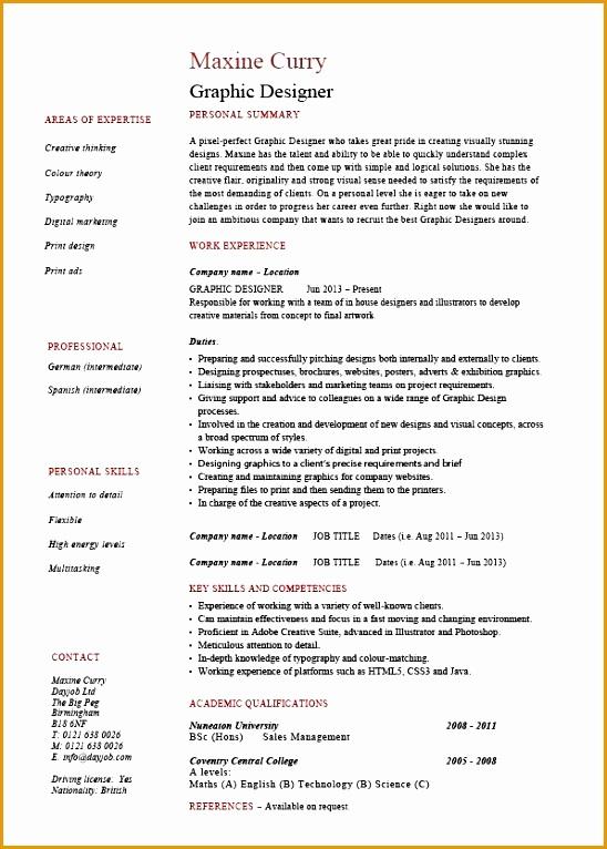 pic graphic designer resume 01