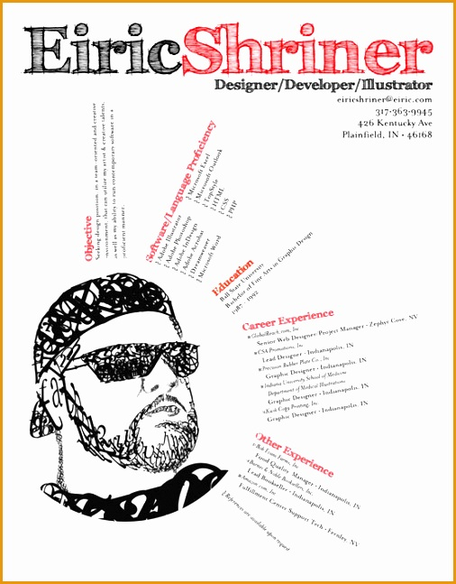 Graphic Design Resume Best Practices and 51 Examples647506