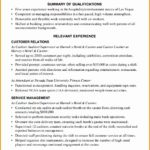 5 Hospitality Resume Writing Example