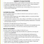5 Hospitality Resume Writing Example