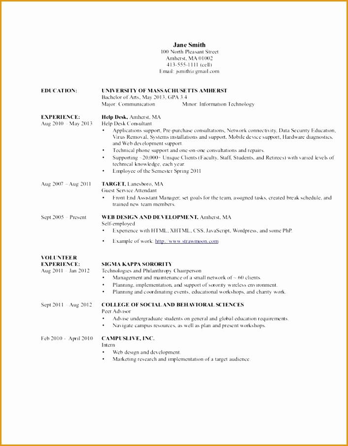 Resume Examples Help Desk Technician Advisor Support Professional904706