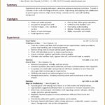 7 Job Resume Sample