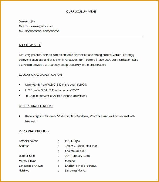 37 Bpo Resume Templates Pdf Doc: 5 Latest Cv Templates Doc