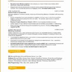 5 Marketing Resume Example