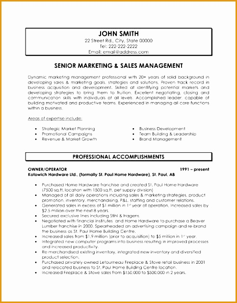 Marketing Manager Resume Examples marketing manager resume samples Here To Download This Senior Marketing And617483