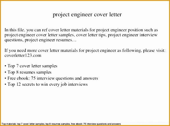 cover letter for a mechanical engineer sample environmental Electrical Engineering Cover Letter Examples435586
