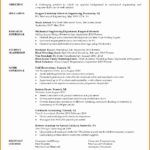 8 Mechanical Engineering Student Resume