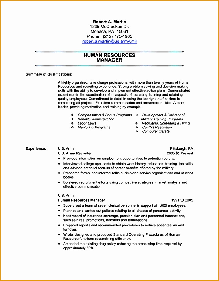 Military Resume Template Transition Easy Exle Best Detail Ideas Format Very941736