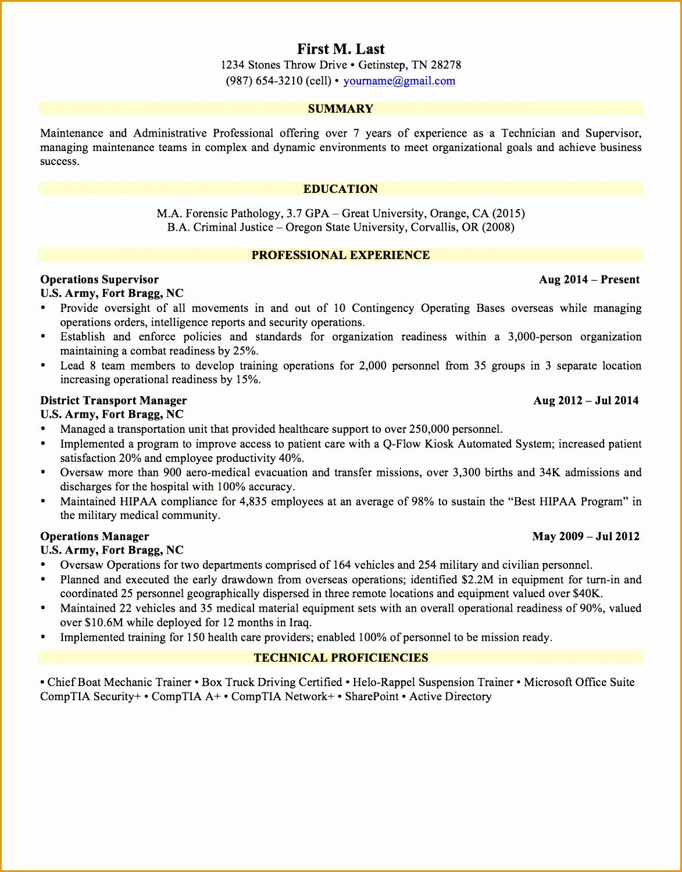 sample resume general 1page15011173