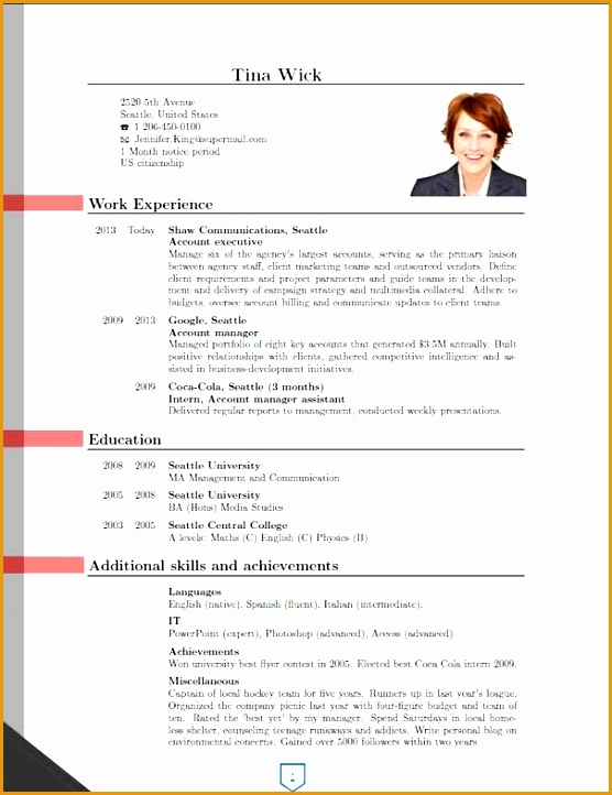 Interesting New Resume Format 21 About Remodel Resume For Graduate School with New Resume Format