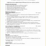 7 Pharmacist Curriculum Vitae Templates