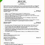 7 Preschool Teacher Resume Sample
