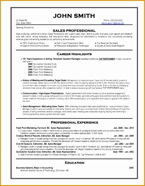 Professional Resumes Templates 59 Best Best Sales Resume Templates Samples Pinterest Ideas617483