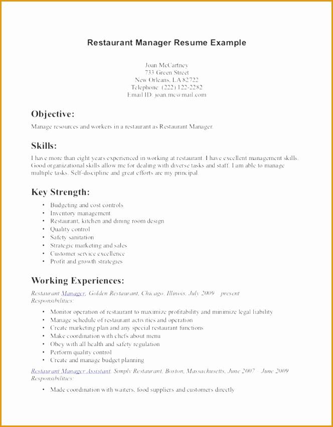 Server Resume server resume lane server resume sample free server resume example Restaurant Server Resume Template849664