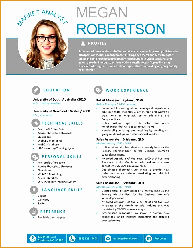 free creative resume templates866677