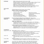 9 Resume Mechanical Engineering