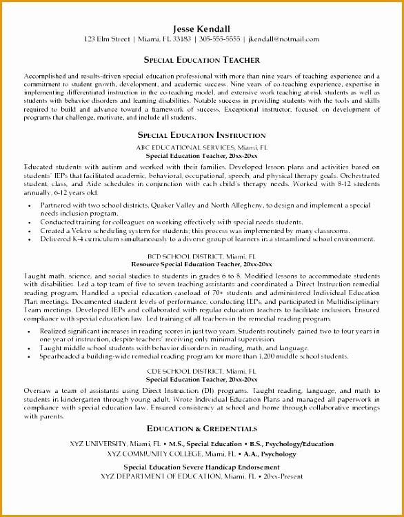 [ Special Education Teaching Resume Examples Teacher Objective Example Samples For Radiologic ] Best Free Home Design Idea & Inspiration750586