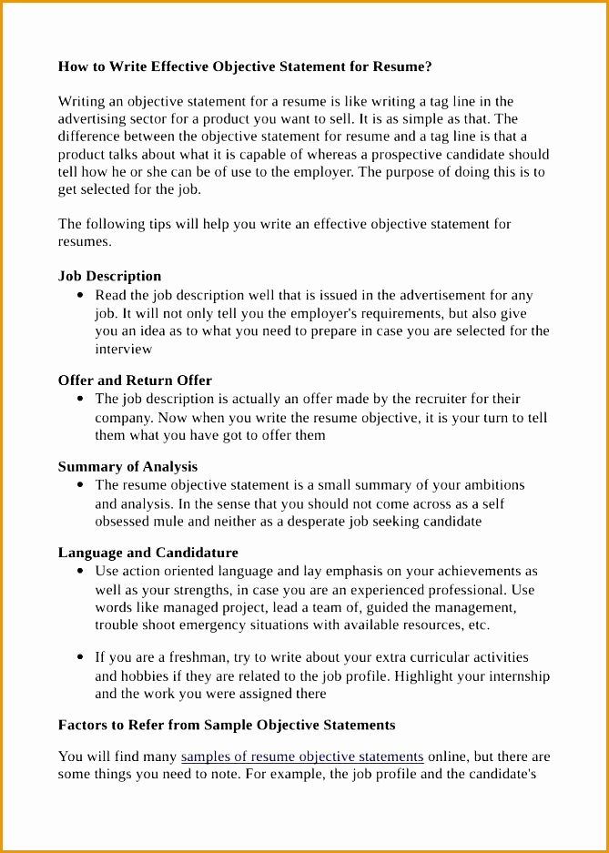 how write effective objective statement for resume special education teaching examples teacher937669