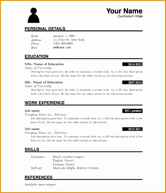 simple resume sample for fresh graduate job resume samples for resume sample for fresh graduate