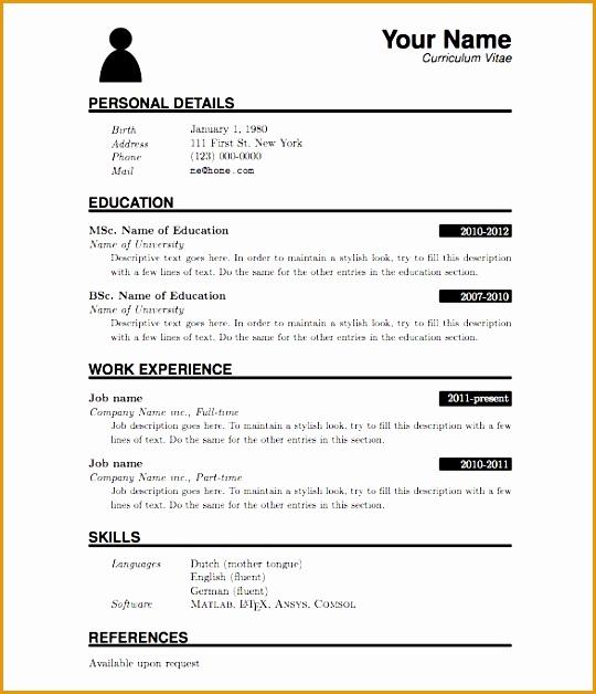 7 resume sample for fresh graduate