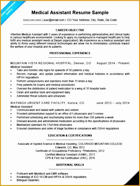 medical assistant resume sample 530x710646487
