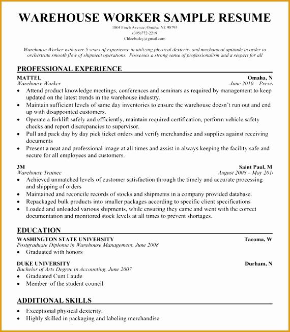 b55d480bcc e190bff72e89 warehouse worker sample resume