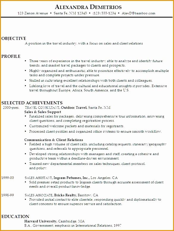 8 sales associate resume objective statement