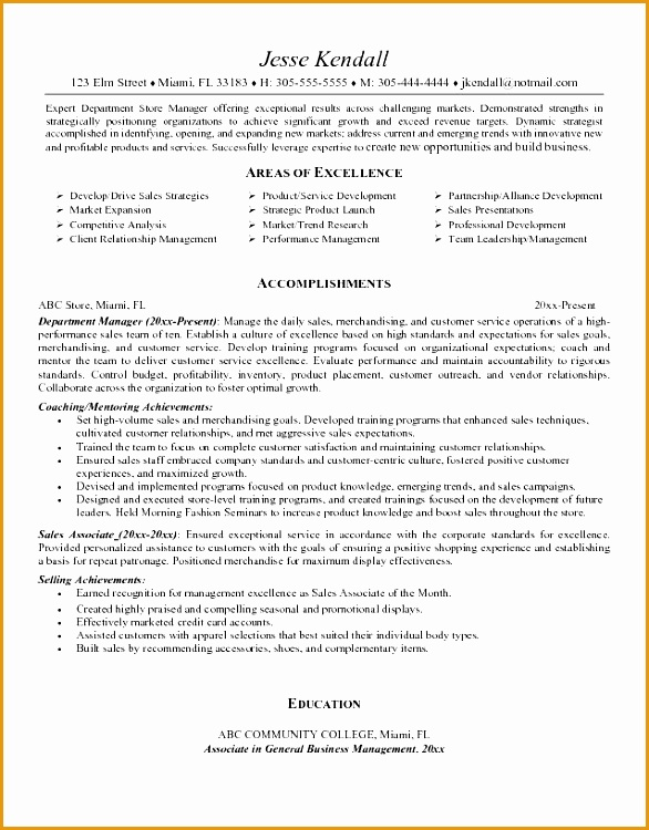 sales associate resume objective to inspire you how to create a good resume 3