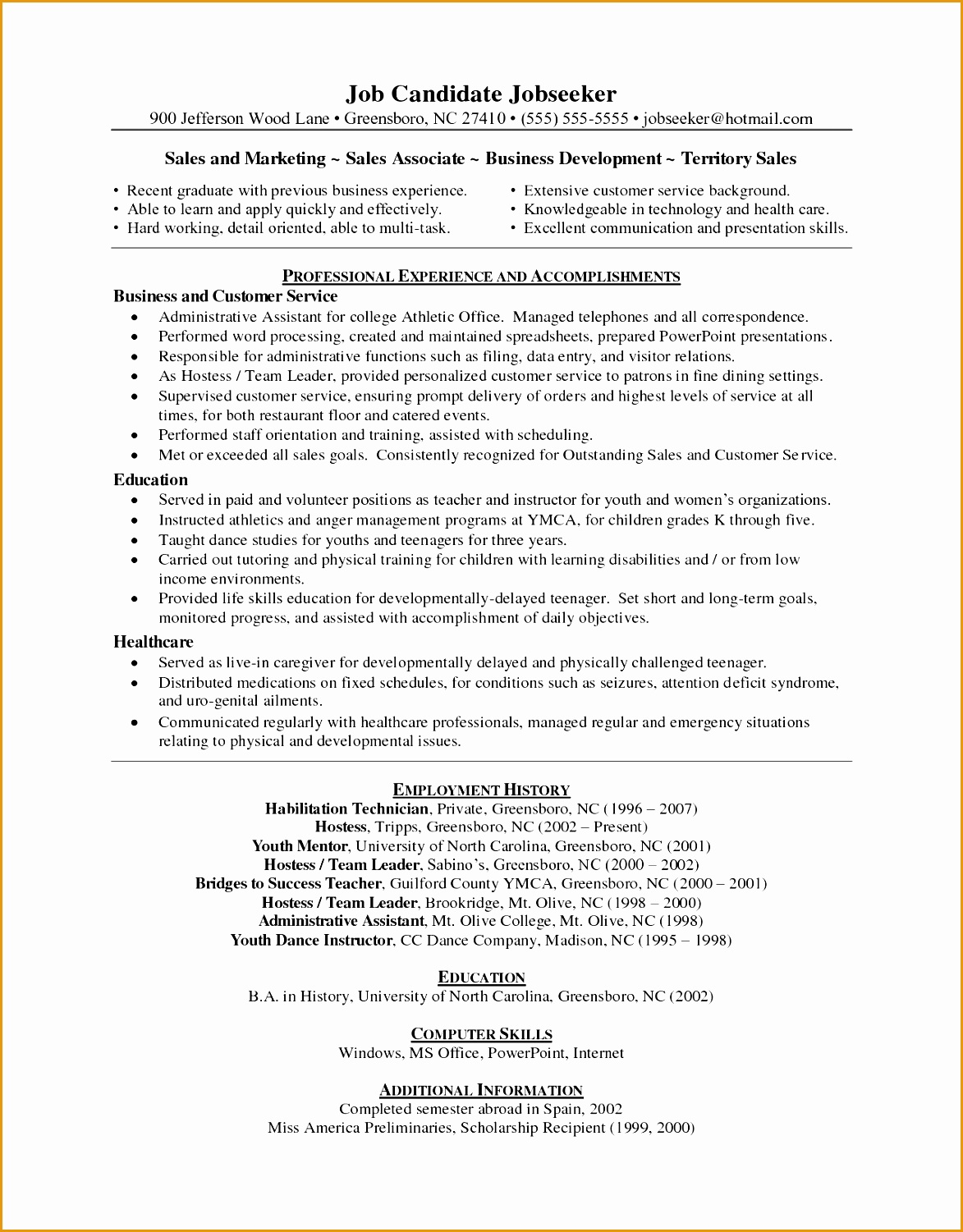 Resume Template Retail Associate Whetink Co